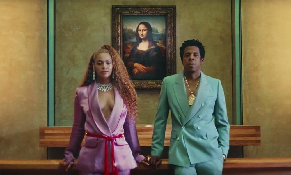 Beyonce, Jay-Z & la Joconde